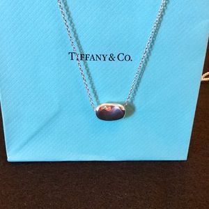 TIFFANY Elsa Peretti BEAN necklace -Large Sterling